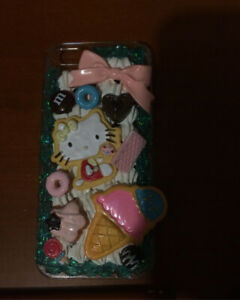 anime iphone 5 case decora hello kitty
