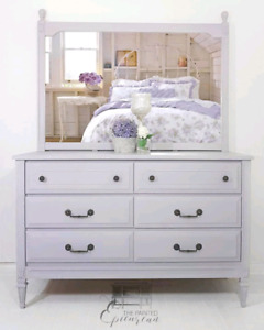 Baronet Dresser with Mirror