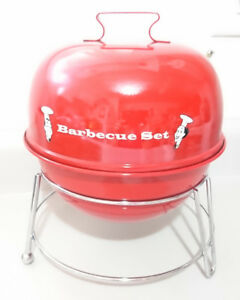 Barbeque Grill Shaped  Condiment Caddy