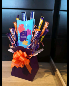 Personalised chocolate gifts/bouquets