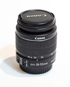 Wanted Canon 18-55mm lenses