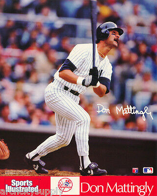 2bec6e2033239b LOT OF 2 SMALL POSTERS  MLB BASEBALL  DON MATTINGLY NY YANKEES  6579 RP85 X