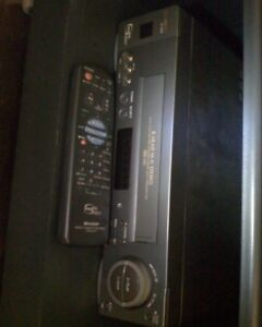 $100 SHARP VCR (used: very good)