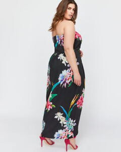 CITY CHIC MAXI FLORAL DRESS 3x , 22-24, plus maxi, Formal