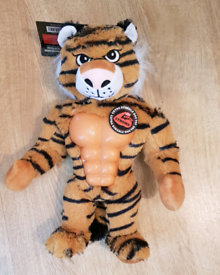 BNWT - TIGER - Mighty Beast Tough Dog Toy with Squeaker.