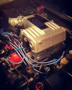 Gt40 intake, 24# injectors and sct chip