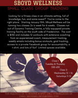 Small group fitness training! 6 weeks