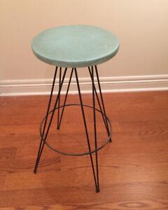 Retro 60s kitchen/bar stool