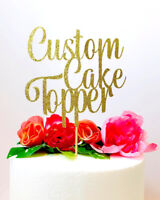 Cake Toppers - Custom, Personalized, Edible Images and Picks!
