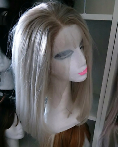 Brand new lace front wig very natural try first  Ash blonde 14 in New Farm Brisbane North East Preview