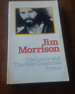 Jim Morrison (The Doors) First Book of Poems, 1971 Kitchener / Waterloo Kitchener Area image 1