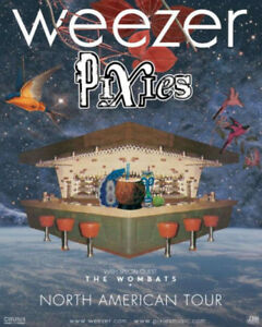2 Weezer w/ Pixies Lawn Tickets Saturday July 14th @ Bud Stage