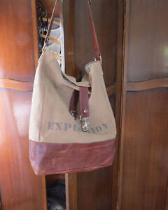 Canvas/Leather bag