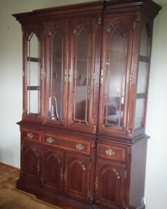 Antique hutch - solid wood