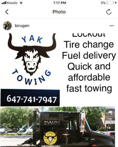 Yak towing.best and reliable