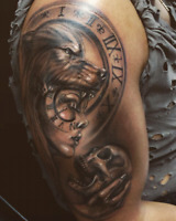 Discounted Realism  Tattoo!  Portraits, Art, Painting