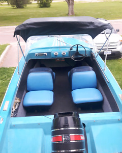 Peterbrough Runabout Boat