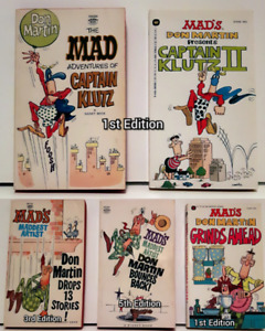 Mad's Don Martin, 5 Paperbacks, includes 3 first editions