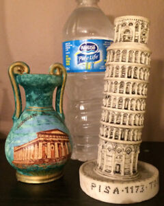 Worldly objects; Asia, South America and Europe decor/ collect