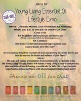 Young Living Essential Oil Wellness Expo