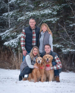 Winter Family Portrait, Couple section in Moncton