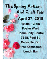 The Artisan and Craft Fair ( A CALL FOR VENDORS)