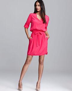 DKNY hot pink dress Strathcona County Edmonton Area image 1