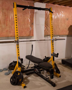 Powertec Half Rack and many more accessories