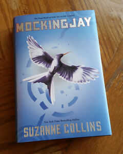 Used hardcover copy of Mockingjay by Suzanne Collins