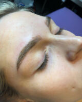 MICROBLADING PROMOTION 200$ manucure gel shellac, poses d'ongles