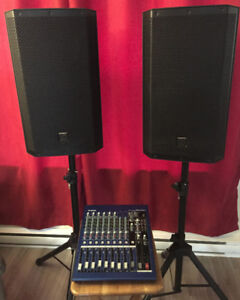 Complete PA System For Sale, EV/Yamaha