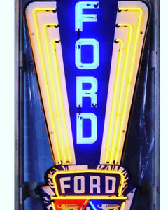 Ford neon signs and more