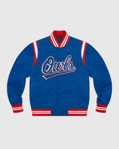 OVO OWLS Jacket Royal Blue - XL - Octobers Very Own