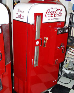 Vintage Coin Op Soda machines and Service Station Items