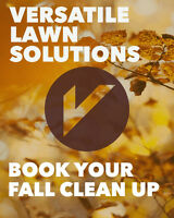 BOOK YOUR FALL CLEAN UP