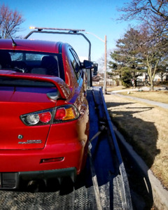 FLATBED TRUCK TOW SERVICES STARTING FROM $100/HOOK & $3/KM