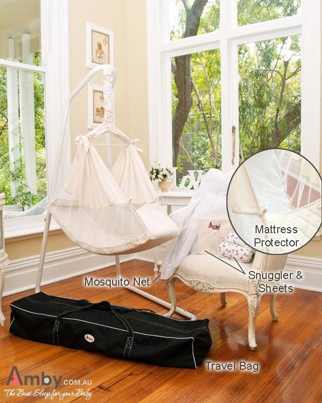 Amby Baby Hammock - Amby Air Super Value Package. Bed   cot   crib   bassinet
