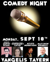 Comedy at Vangelis