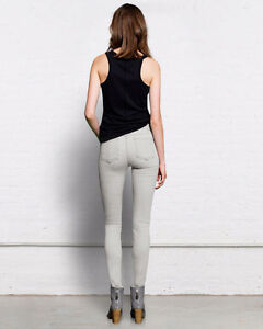 "RAG & BONE ""The Skinny"" Jeans, Faded Grey/White, Wedge, Size 27 London Ontario image 2"