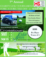 7the Annual Multiple Sclerosis Golf Tournament