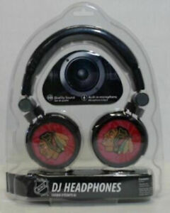 Brand New - NHL Chicago Blackhawks DJ Headphones