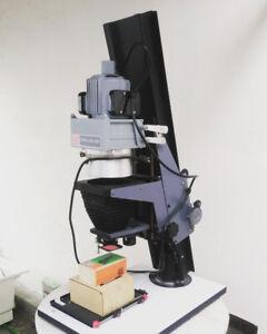 Omega pro-lab 4x5 enlarger, accessories, darkroom paper
