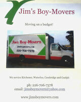 Moving company Price starting from $55 Jims boy movers