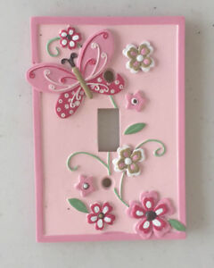 Butterfly lightswitch cover