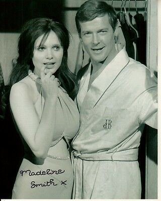 Madeline Smith Hand Signed Live And Let Die 8X10 W  Uacc Rd Coa Roger Moore 007