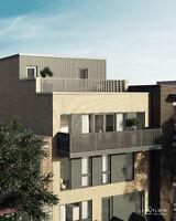Rosemont Condo neuf 571 pi² 1 ch grand balcon - 199 000$