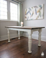Heritage Farm Tables - Custom stains & sizes
