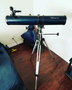 Celestron Power Seeker 114 EQ Telescope w/ Optional Motor Drive