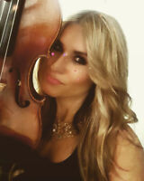 Professional violinist for your wedding or event!