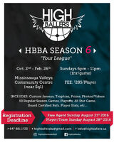 Adult Basketball League - Mississauga